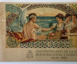 Programa de actos Cincuentenario de la Exposición Regional Valenciana 1909 – 1959 – Ateneo Mercantil