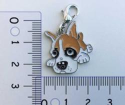 Colgante para collar de perro diseño Boxer