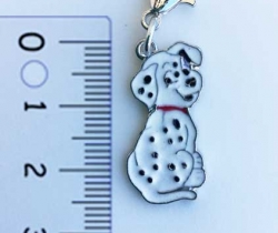 Colgante para collar de perro diseño Dálmata