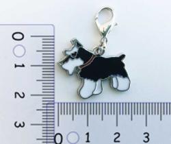 Colgante para collar de perro diseño Standar Schnauzer