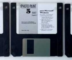 Corel Photo Paint 5 Select – Disquete – 1994