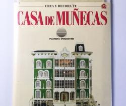 Pared Crea y Decora tu Casa de Muñecas – Planeta de Agostini 1998 – Entrega Nº 35