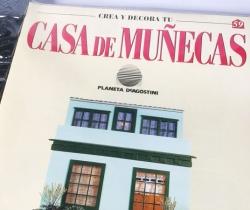 Tejado Crea y Decora tu Casa de Muñecas – Planeta de Agostini 1998 – Entrega Nº 59