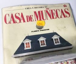 Cama Crea y Decora tu Casa de Muñecas – Planeta de Agostini 1998 – Entrega Nº 76