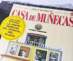Tejado Crea y Decora tu Casa de Muñecas – Planeta de Agostini 1998 – Entrega Nº 49