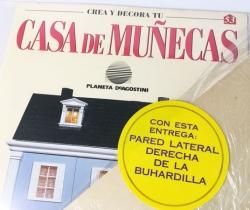 Pared Crea y Decora tu Casa de Muñecas – Planeta de Agostini 1998 – Entrega Nº 53