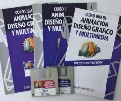Curso IBM de Animación, Diseño Gráfico y Multimedia – Disquetes incluidos – Presentación nº 1 y nº 2