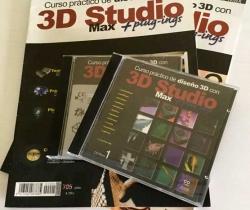 Curso práctico de diseño 3D con 3D Studio Max + 2 CDS