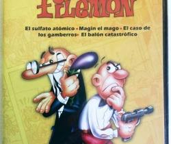 DVD Mortadelo y Filemón – El sulfato atómico – Magin el Mago – Nuevo con precinto