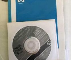 DVD Windows Vista + Driver Recovery HP Series 540, 550