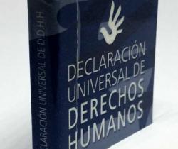 Mini libro Declaración Universal de Derechos Humanos – Abogacía Española – 2005