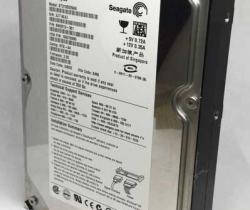 """Disco Duro 3.5"""" SATA 120GB Seagate ST3120026AS + ventilador"""
