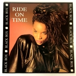 Disco de vinilo Ride on Time – Black Box – Max Music – 1989 – Río Preto Radio