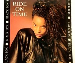 Disco de vinilo Ride on Time – Black Box – Max Music – 1989 – Río Preto Radio