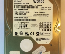Disco duro 40GB Western Digital WD400BB AVERIADO