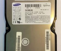 Disco duro ATA-100 Samsung SpinPoint SV3063H