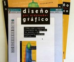 Lote 3 fascículos Diseño Gráfico por ordenador – Salvat Multimedia 1998