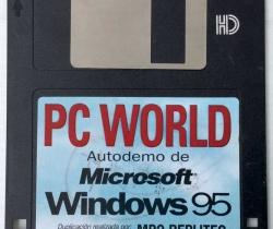Disquete Autodemo de Microsoft Windows 95 – PC WORLD