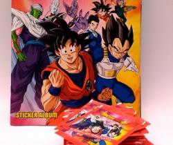 Álbum de cromos vacío Dragon Ball Super + 42 sobres nuevos – Panini 2019