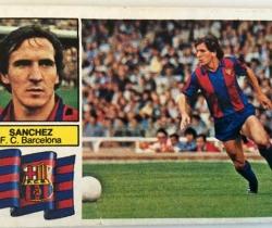 Ediciones Este Liga 82/83 – Sánchez F.C. Barcelona – Con FCB