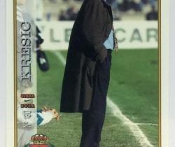 Ficha Última Hora Kresic 130 Real Valladolid Mundicromo Las Fichas de la Liga 1997 / 1998
