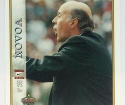 Ficha Última Hora Novoa 298 R. Sporting Mundicromo Las Fichas de la Liga 1997 / 1998