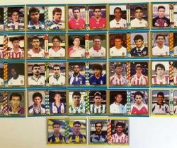 Lote 22 cromos Fichas Liga 94/95 Fútbol Total – Mundi Cromo – 1ª y 2ª División