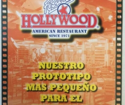 Folleto publicitario franquicia Foster's Hollywood – 1998