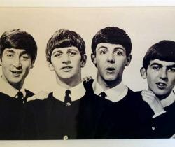 Fotografía de los Beatles en los años 60