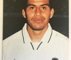 Fotografía Cáceres jugador del Valencia CF