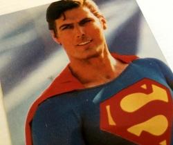 Fotografía de Superman 10x15cm años 90