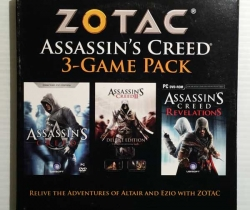 3-Game Pack Assassin's Creed – Zotac – Ubisoft