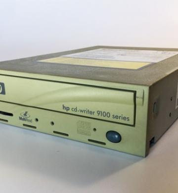 Grabadora HP cd-writer 9100 series C4462-60001