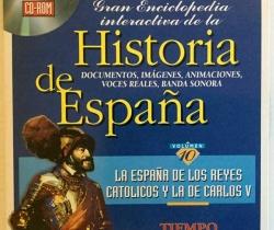 Gran Enciclopedia Interactiva de la Historia de España – Volumen 10 – Tiempo – Grupo Zeta
