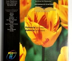 Guía Telefónica – Valencia Área Urbana – Municipios Valencianos – Edición Diciembre 1995