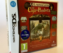 Juego Nintendo DS El profesor Layton y la Caja de Pandora