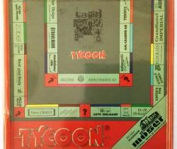 Juego TYCOON Moers en Alemán – Regalo publicitario con patrocinadores – Año 1988