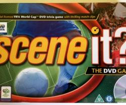 Juego de mesa Scene it? The DVD Game – Mattel – Fifa – 2006