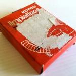 Limpiatipos KORES caja con 10 tubos – Años 80