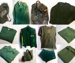 Petate con ropa y complementos de Legionario Ejército Español de Tierra Años 90.