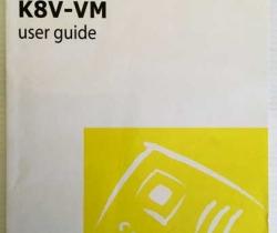 Manual placa base Asus K8V-VM – user guide – Motherboard