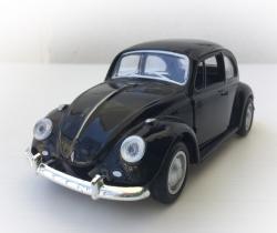 Maqueta VW Escarabajo Diecast 1:36 negro beetle