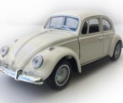 Maqueta VW Escarabajo Diecast 1:36 blanco beetle