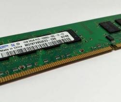 Memoria RAM Samsung 1GB PC2 5300 M378T2953EZ3–CE6
