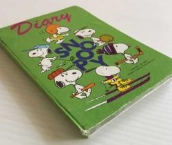 Mini diario Snoopy – Diary – Peanuts – años 80