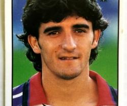 Cromo Liga 98/99 – Nº129 – Pastelitos Bony, Tigretón – Mundicromo
