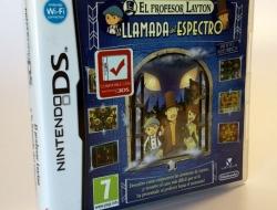 Juego Nintendo DS El profesor Layton y la llamada del espectro