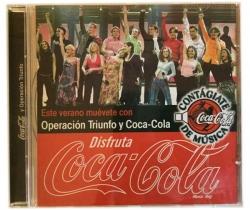 CD de música de Operación Triunfo y Coca-Cola Verano 2002