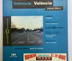 Páginas azules Valencia Guía de calles – 1993/1994 – Grupo Telefónica