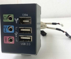 Panel frontal Firewire, audio y USB 22-10488-01 de HP Pavilion